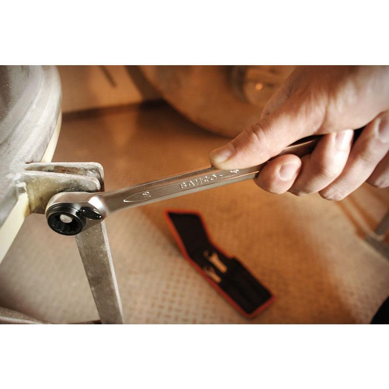 Bahco à cliquet-cliquet jeu sac de ceinture clés à cliquet s4rm//3t
